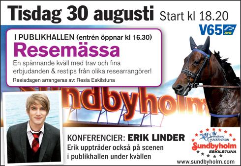 Erik Linder Resiadagen